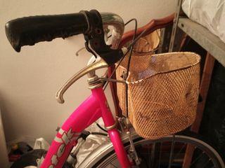Bicicleta para restaurar.