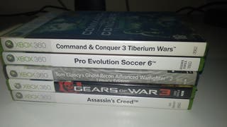 Varios juegos Xbox 360 a 5 € cada uno