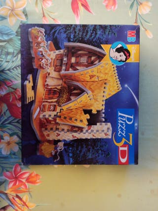 Puzzle 3D Blancanieves