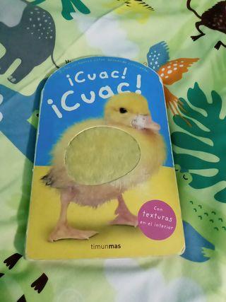 libro bebé texturas