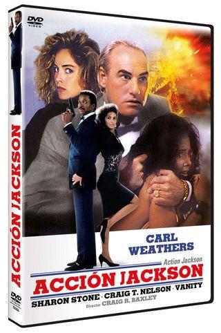 ACCION JACKSON DVD