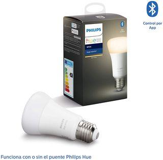 Bombilla Inteligente LED E27, con Bluetooth