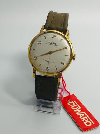 Reloj suizo original ESTADO NOS duward JUMBO