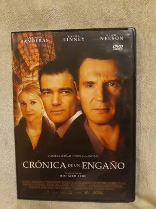Crónica de un engaño DVD
