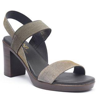 Sandalias tacón cuadrado