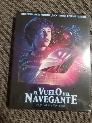 EL VUELO DEL NAVEGANTE ED. ESPECIAL BLURAY NUEVO