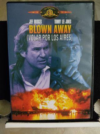 Blown Away Volar por los aires. DVD. Película.