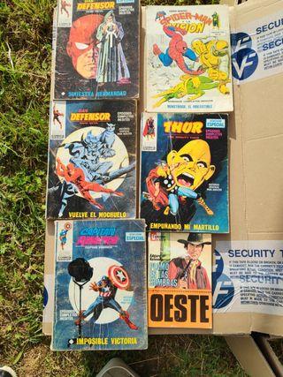 Comics, libros y revistas antiguas