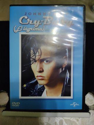 Cry Baby El lágrima. DVD. Película.