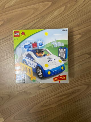 Lego duplo 4963 Coche de policía con policia.