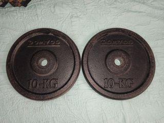 discos de 10 kilos