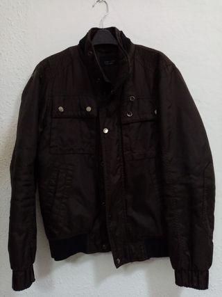 chaqueta hombre Zara talla S color marrón