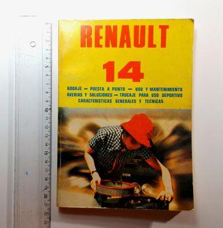 LIBRO HERRAMIENTA RENAULT 14
