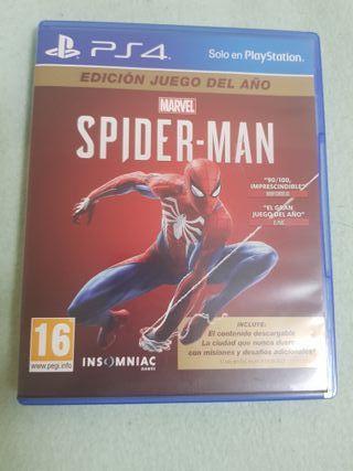 VENDO JUEGO SPIDER-MAN DE PS4