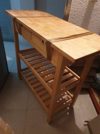 Mesa cocina jardin