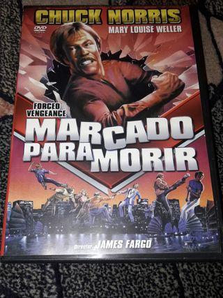 MARCADO PARA MORIR (Pelicula DVD)