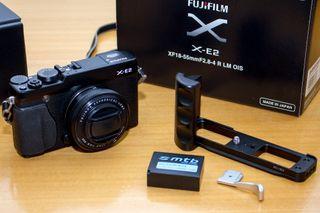 Equipo Fujifilm sin espejo: Cuerpo XE2 + 27 + 18