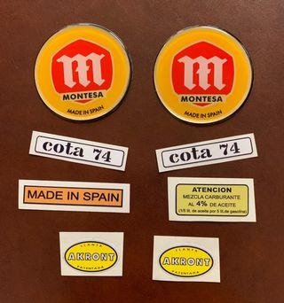 Montesa Cota 74 kit adhesivos