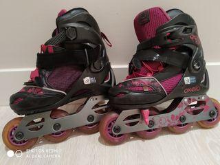 patines de fila extensibles,talla 34_37