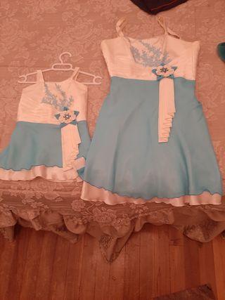 Vestidos de fiesta Madre e Hija