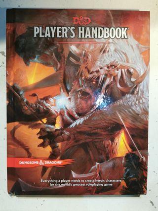 dungeons dragons libro guía del jugador