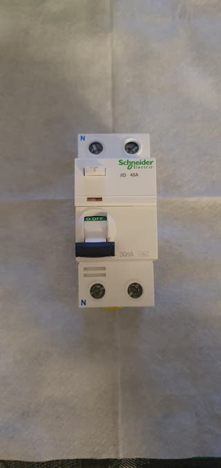 Interruptor Diferencial Schneider 40A 30mA