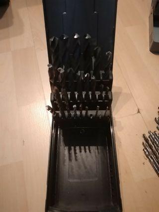 caja de brocas para hierro o metal