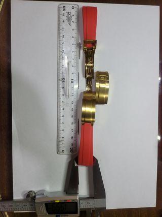 Correa 20mm rolex oyster silicona y cierre oro