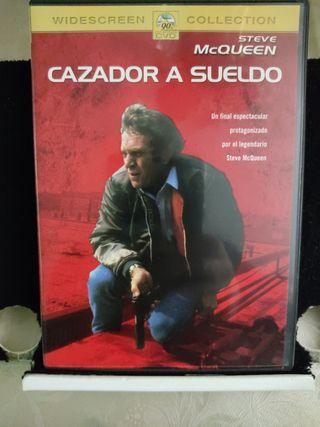 Cazador a sueldo. DVD. Película.