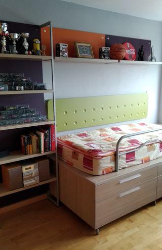 mueble habitación Juvenil infantil, en perfecto es