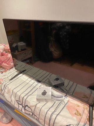 TV LCD 40' como nueva Google Chromecast Smart TV