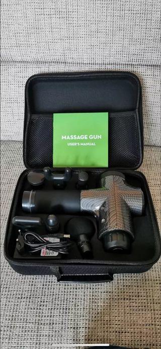Pistola masajes