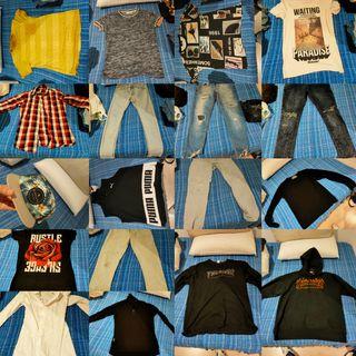 maleta llena de ropa