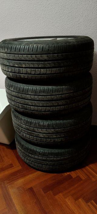4 neumáticos pirelli p7 225/60/17 99v