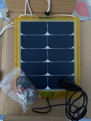 Placa solar obd mantiene la carga de tu batería