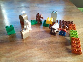 Lego Duplo granja animales