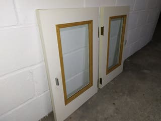 Puertas armario con cristal
