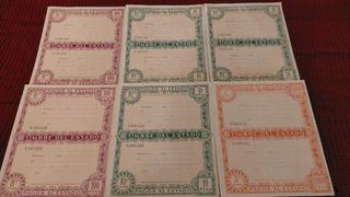 Antiguos timbre del estado pagos