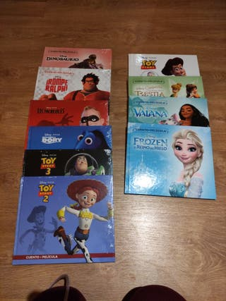cuentos +pelis Disney y pixar