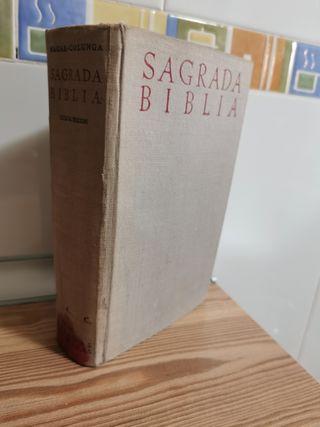Sagrada Biblia Nácar Colunga octava edición