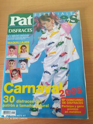 carnaval revistas disfraz