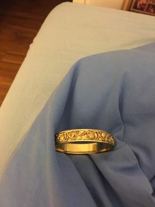 Pulsera chapada en oro antigua