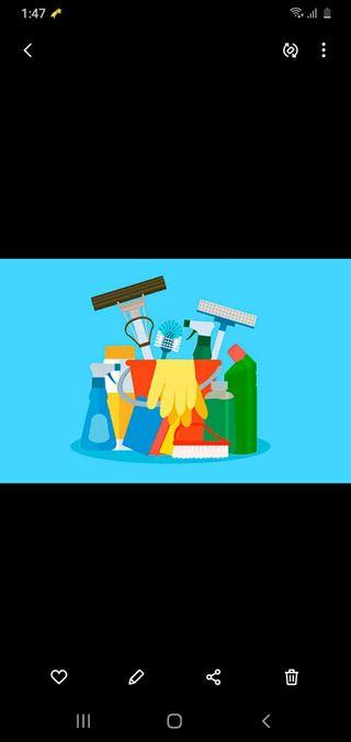 Limpieza de hogar 8€ Hr