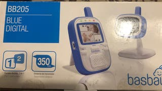 Cámara de vídeo vigilancia para bebés.