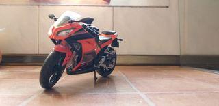 moto maqueta 1:12 kawasaki ninja 300