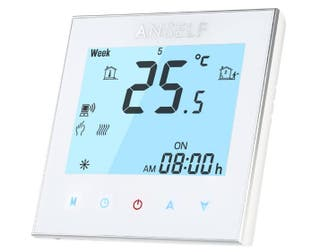 Anself Termostato Programable de Calefacción wifi