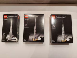 Lego Architecture Burj Khalifa - 21008,21031,21055