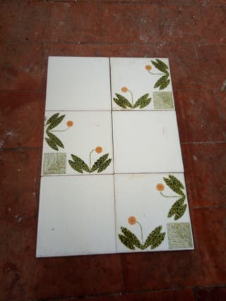 azulejos antiguas vintage