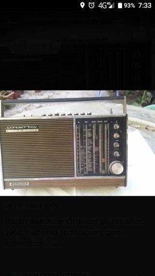 Radio Transistor Grundig Concert boy