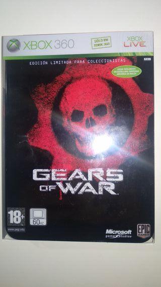 Gears os War edición coleccionista para Xbox 360